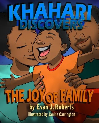 Khahari Discovers Book Series by Evan Roberts